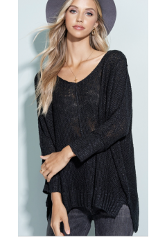 Amelia Sweater Black