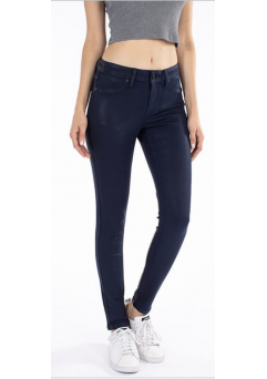 Angie Coated Denim Jean NAVY