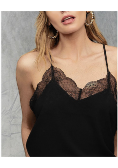 Bella Camisole Black