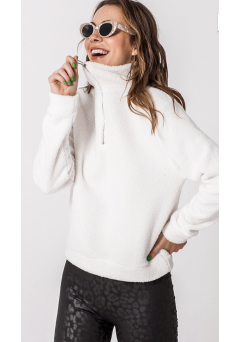 Cloud Nine Sherpa Pullover (White)