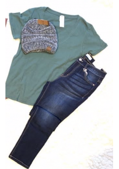 Commune Tee Forest Green
