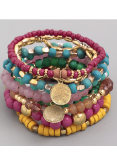 Havana Bracelets Multi Color