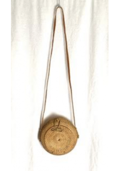 Hazel Straw Bag