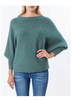 Kara Sweater Ocean Teal