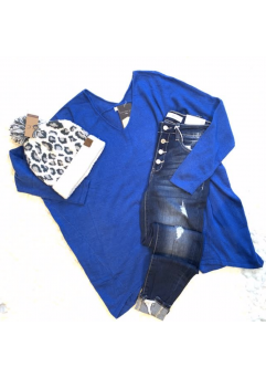 Miracle Sweater Royal Blue