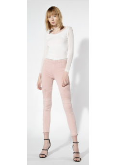 Moto Leggings Dusty Pink