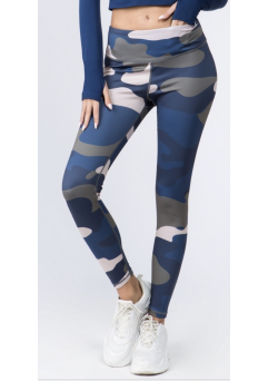 Navy Camo Legging