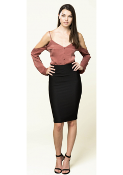 Pencil Skirt Black