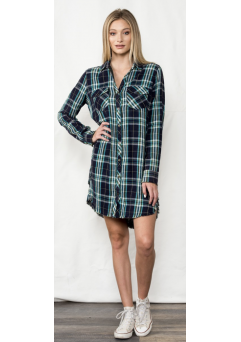 Quinn Plaid Dress