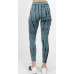 Tie Dye Legging Black and Grey